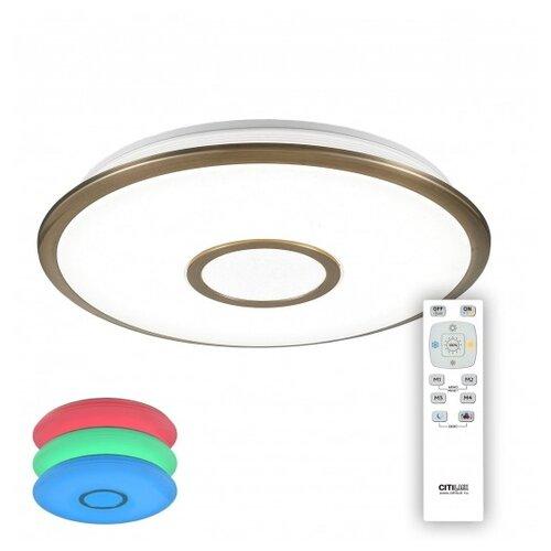 Светодиодный светильник Citilux Старлайт CL70343RGB 46.5 см потолочный светодиодный светильник citilux cl701410b