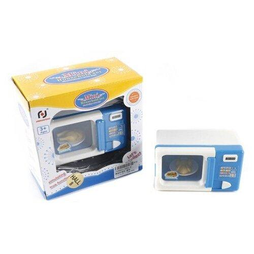 Купить Микроволновая печь Shantou Gepai 3521-8 бело-голубой, Детские кухни и бытовая техника