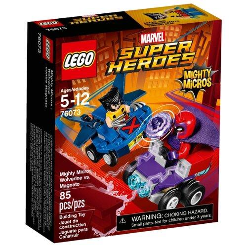 Конструктор LEGO Marvel Super Heroes 76073 Росомаха против Магнето