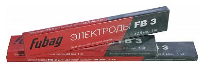 Электроды для ручной дуговой сварки Fubag FB3 2.5мм 1кг