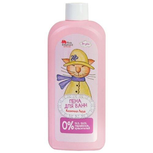 Pink Elephant Пена для ванн Кошечка Лиза, 500 мл