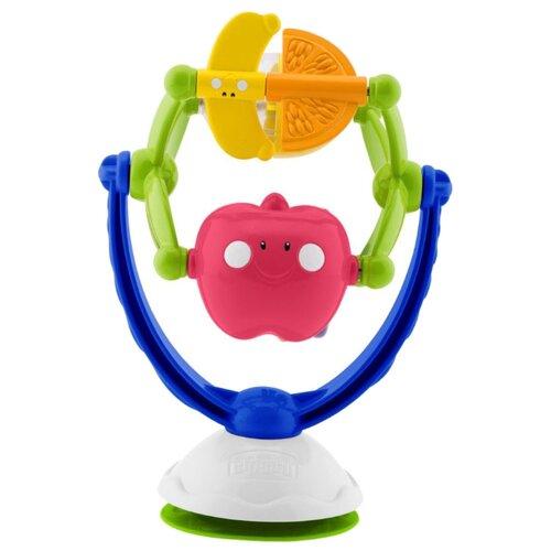 Погремушка Chicco Музыкальные фрукты 5833 синий/зеленый chicco погремушка ключи на кольце голубая chicco