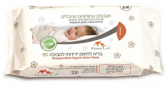 Влажные салфетки Mommy Care Детские органические