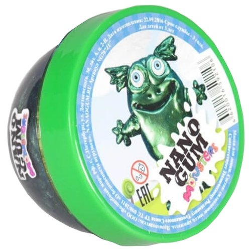 Жвачка для рук NanoGum Зума темно-зеленый