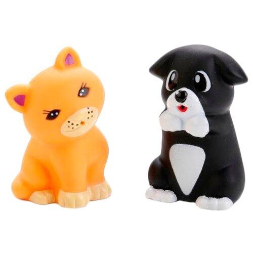 Купить Набор для ванной Играем вместе Щенок и котенок (LXB162_199), Игрушки для ванной