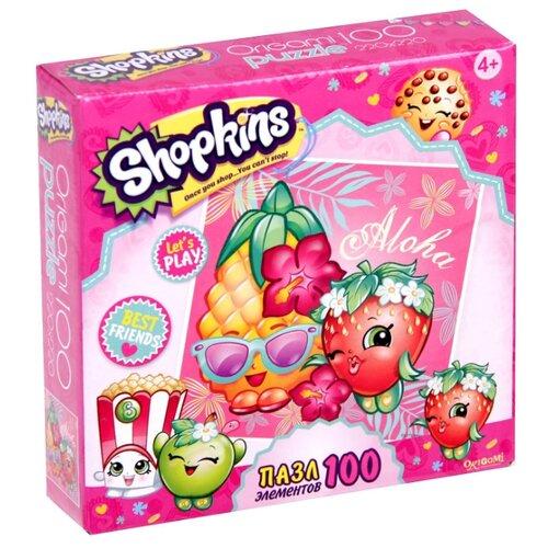 Купить Пазл Origami Shopkins Тропический остров (02972), 100 дет., Пазлы