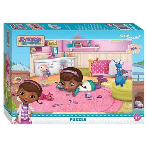 Купить Пазл Step puzzle Disney Доктор Плюшева (82133), 104 дет., Пазлы