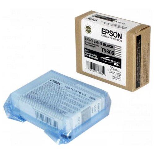 Фото - Картридж Epson C13T580900 epson t5809 c13t580900 светло серый
