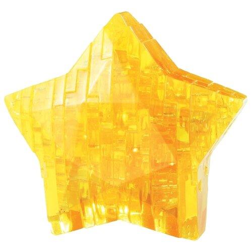 3D-пазл Crystal Puzzle Желтая звезда (90008) 38 дет..