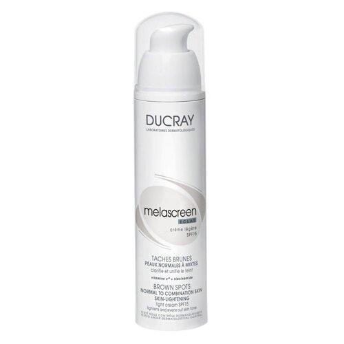 Ducray Melascreen Eclat Крем для лица Легкий отбеливающий SPF15, 40 мл ducray неоптид лосьон от выпадения волос для мужчин 100 мл