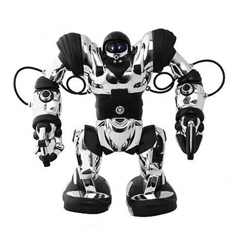 Интерактивная игрушка робот WowWee Robosapien серебристый/черный робот wowwee игрушка электрокидс черный матовый