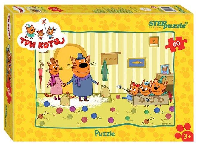 Пазл Step puzzle Три кота (81152) , элементов: 60 шт.