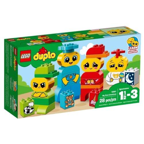 Конструктор LEGO DUPLO 10861 Мои первые эмоции lego duplo 10884 конструктор лего дупло мои первые цирковые животные