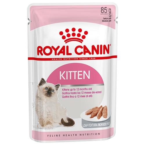 Корм для котят Royal Canin Instinctive мясное ассорти 85 г (паштет) cat wet food royal canin instinctive 7 spider for cats over 7 years old pieces in sauce 24 85 g