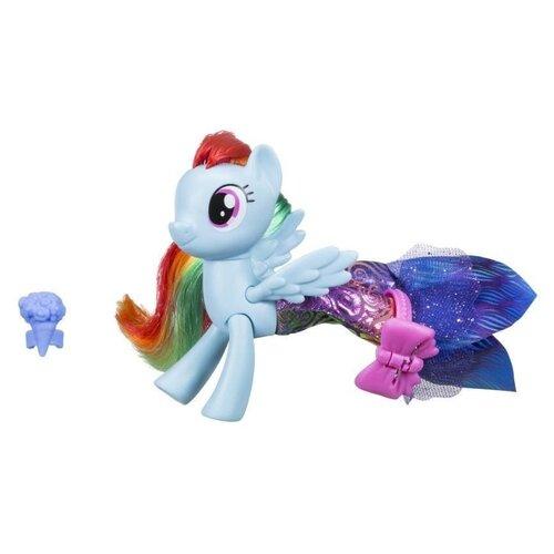 Игровой набор My Little Pony Радуга Дэш в волшебном платье C1828 игровой набор b2072eu4 на ферме яблочная аллея my little pony my little pony