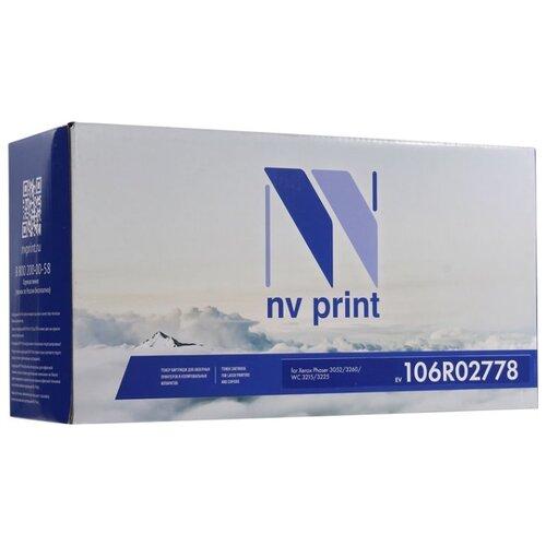 Картридж NV Print 106R02778 для Xerox, совместимый картридж xerox 106r02778