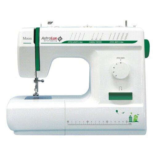 Швейная машина AstraLux Moon, бело-зеленый