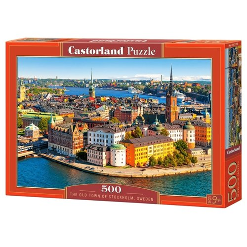 Купить Пазл Castorland The Old Town of Stockholm, Sweden (B-52790), 500 дет., Пазлы