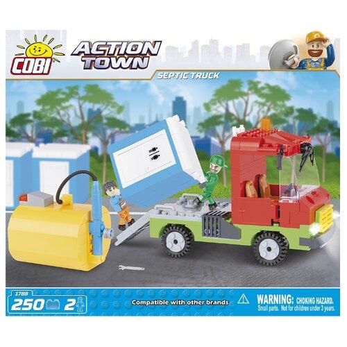 Конструктор Cobi Action Town 1788 Машина для откачки канализации