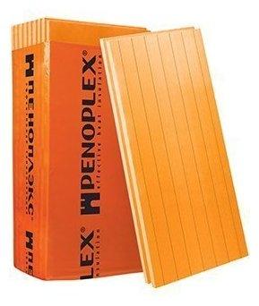 Экструдированный пенополистирол (XPS) ПЕНОПЛЭКС Стена 118.5х58.5см 50мм 8 шт