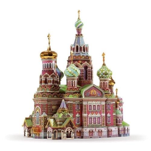 Сборная модель Умная Бумага Храм Спаса-на-Крови (110) 1:200