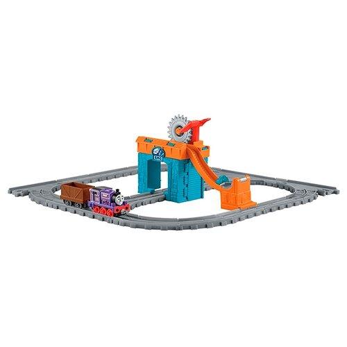 Купить Fisher-Price Стартовый набор Чарли за работой , серия Adventure, FBC59, Наборы, локомотивы, вагоны