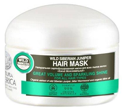 Natura Siberica BDIH Маска для всех типов волос «Дикий можжевельник»