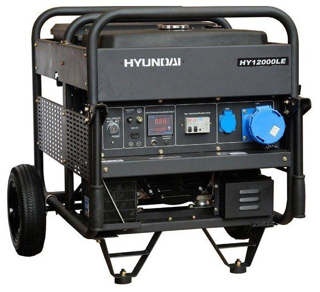 Бензиновый генератор с автозапуском Hyundai HY12000LE 10 квт