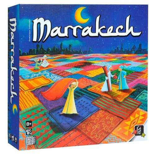Настольная игра Gigamic MARRAKECH gigamic настольная игра quixo mini