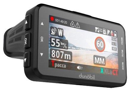 Видеорегистратор с радар-детектором Dunobil Assist, GPS