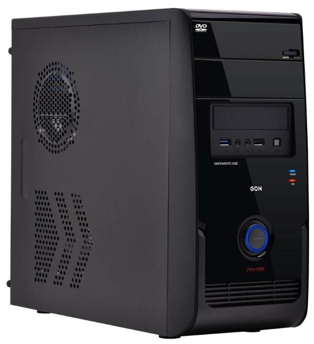 PowerCool Компьютерный корпус PowerCool S6020-B 500W