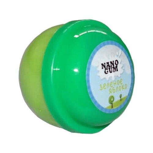 Жвачка для рук NanoGum Зеленое яблоко 25 грамм зеленый