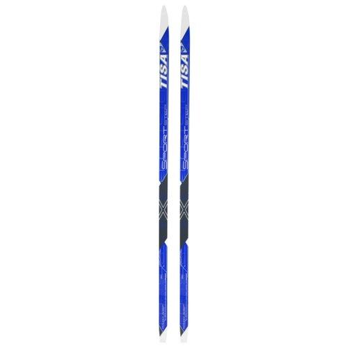 Беговые лыжи Tisa Sport Step Jr синий 160 см беговые лыжи tisa sport step красный черный белый 192 см
