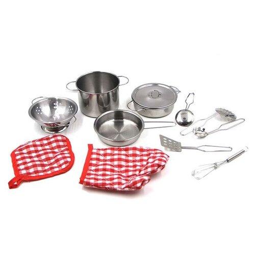 Фото - Набор посуды ABtoys Помогаю маме PT-00482 набор abtoys помогаю маме pt 01342 розовый белый
