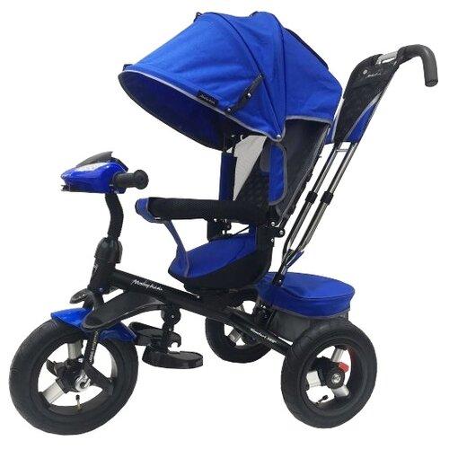 Купить Трехколесный велосипед Moby Kids Comfort 360 12x10 AIR синий, Трехколесные велосипеды