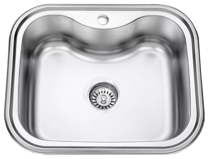 Врезная кухонная мойка 58 см Seaman Eco Wien SWT-5848 серебристый - Характеристики - Яндекс.Маркет (бывший Беру)