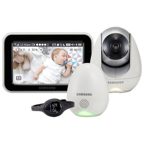 цены Видеоняня Samsung SEW-3057WP белый/серый/черный