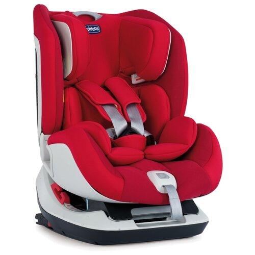Фото - Автокресло группа 0/1/2 (до 25 кг) Chicco Seat Up Isofix, red автокресло группа 0 1 2 до 25 кг torego drive isofix зеленый лен