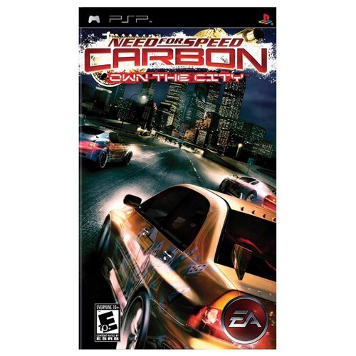 Игра для PlayStation Portable Need for Speed: Carbon