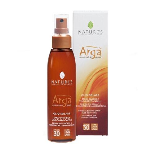 Купить Nature's Arga Solare масло для лица и тела SPF 30 150 мл