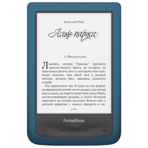 Электронная книга PocketBook 641 Aqua 2 8 ГБ лазурный pocketbook 641 лазурный