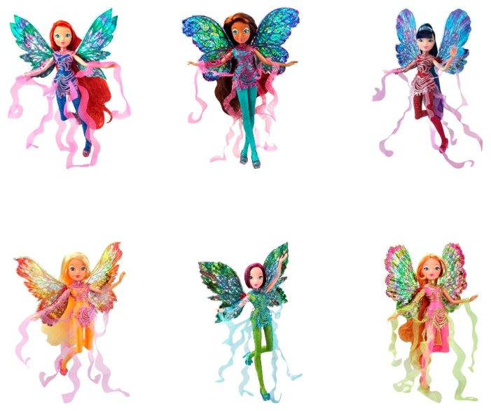 Кукла Winx Club WOW Дримикс, 27 см, IW01451700