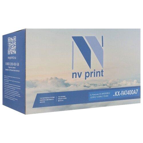 Фото - Картридж NV Print KX-FAT400A7 для Panasonic, совместимый nv print kx fat410a черный