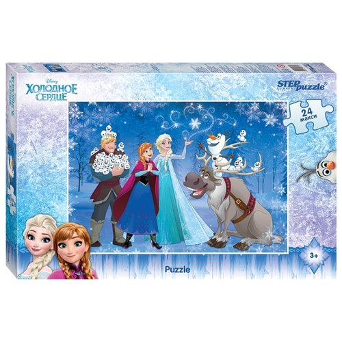 Пазл Step puzzle Disney Холодное сердце (90017), 24 дет.