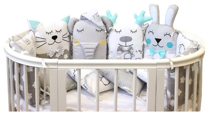 Lady Di Baby комплект бортиков в кроватку Рафаэль