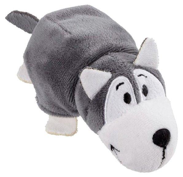 Мягкая игрушка 1 TOY Вывернушка Хаски-Полярный медведь 8 см
