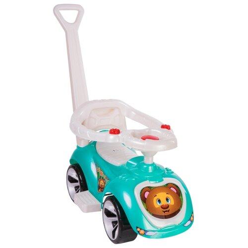 Купить Каталка-толокар Orion Toys Лапка (809) со звуковыми эффектами бирюзовый, Каталки и качалки
