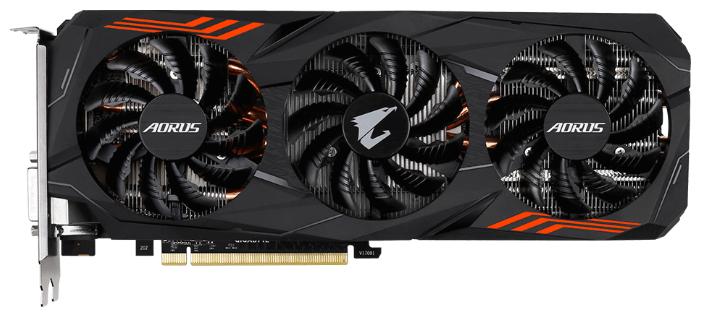 Видеокарта GIGABYTE GeForce GTX 1070 Ti 1607Mhz PCI-E 3.0 8192Mb 8008Mhz 256 bit DVI HDMI HDCP AORUS