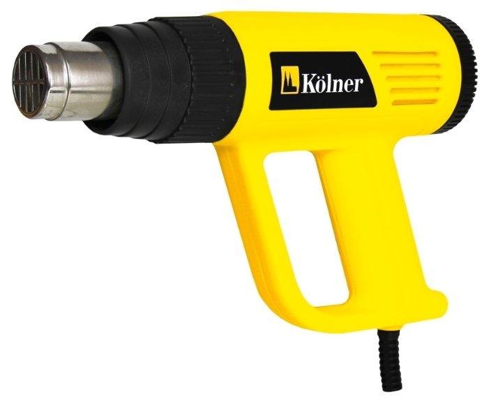 Строительный фен Kolner KHG 2000W Case 2000 Вт