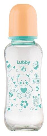 Lubby Бутылочка стеклянная с соской